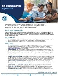 Cybersecurity Awareness Month 2021 - Social Media Tip Sheet_Page_1